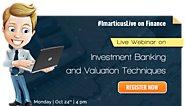 Topic: Investment Banking and Valuation Techniques