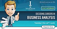 Imarticus Learning Hosts An Informative Webinar On Careers In Business Analysis