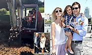 Ivanka Trump takes Arabella out on a construction site