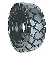 Solid (Flat Proof) Skid Steer Tires