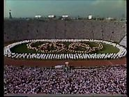 Los Angeles 1984 Olympic Opening Ceremony