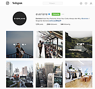 How Everlane is using an 'exclusive' Instagram account to strengthen customer loyalty