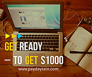 Avail Friendly Cash Deal Today Up To $1000- http://www.paydayrain.com