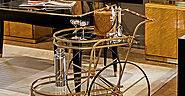 Bar Carts Accentuate and Add Versatility to Home Entertaining and Home Decor
