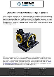 Lift Machines - Certain Maintenance Tips To Consider