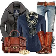 Frye Boots Outfit