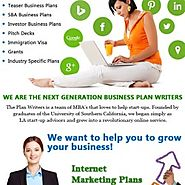 Enhance Your Business With The Expertise Of Plan Writers.