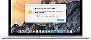 How to Fix Your Startup Disk is Almost Full Error Message on Mac OS X