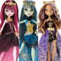 MONSTER HIGH 13 Wishes Party Doll SET