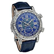 Replique Montre Patek Philippe Sky Moon Tourbillon 6002G-001