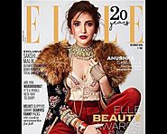 Anushka Sharma featured on the cover Elle India October 2016 Issue.