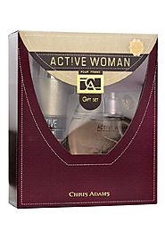 New Active Woman Gift set by Chris Adams perfumes