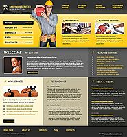 Handyman service Website template