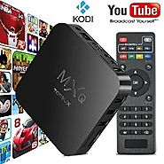TONBUX® Quad Core MXQ Smart TV BOX Mini PC Streaming Media Player with KODI(XBMC) Streamer 1GB/8GB, Fully Loaded,Goog...
