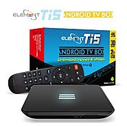 Element Ti5 Quad Core Android TV Box S905 Kodi Android 5.1 4K Ultra HD AC Wireless Streaming Media Player