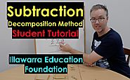 Subtraction Decomposition Trading (For Kids - MADE EASY - Yr 3 - 8) #4