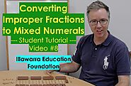 Converting Improper Fractions to Mixed Numerals (Years 5 - 8) #8