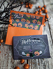 Halloween Invitations Kids