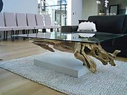 Fantastic Driftwood Coffee Table Base Ideas