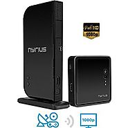 Nyrius ARIES Home HDMI Digital Wireless Transmitter & Receiver for HD 1080p Video Streaming, Cable box, Satellite, Bl...