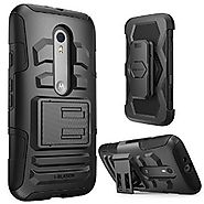Moto G 3rd Generation Case, i-Blason Prime Series Dual Layer Holster For Moto G 3 Gen 2015 Release with Kickstand and...
