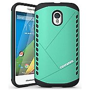 COVRWARE® Moto G (3rd Gen) [ Shield Series ] Dual Layer Armor Case [ Screen Protector ] for Motorola Moto G (3rd Gen ...