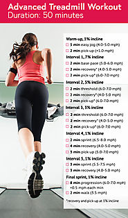 50-Min Advaced Running Machine Workout