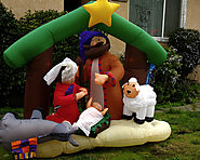 Stand Out With Christmas Outdoor Inflatables