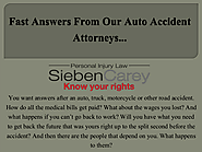 Find The Best Auto Accident Lawyer Minneapolis