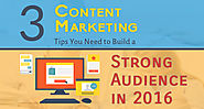 3 Content Marketing Tips You Need to Build a Strong Audience in 2016