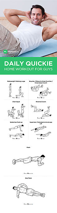 Daily Workout at Home Without Equipment