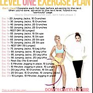 Level One Exercise Plan