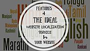 Features of The Ideal Website Localization Service for Your Website | Process9