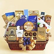 Office Delights Gourmet Gift Basket