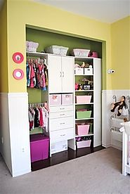 Nursery Closet Organization Hack