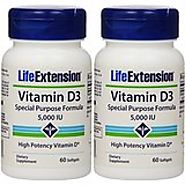 Life Extension Provinal Purified Omega-7 Softgels, 60 Count