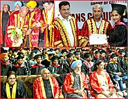 6th Convocation held at Aryans Campus - Aryans Group of Colleges