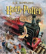 Harry Potter and the Sorcerer's Stone: The Illustrated Edition by J.K. Rowling