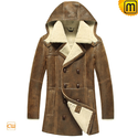 Sheepskin Leather Fur Coat CW878159