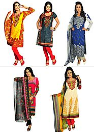 Zoha - Collection Of 5 Dress Materials | 60 Ghantey Maha Loot