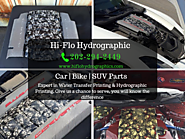 Affordable car rim hydrographic Printing and Water Transfer Printing for Rims