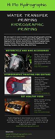 Carbon Fiber Hydrographic Printing, Carbon Fiber patterns for Water Transfer Printing
