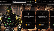 Mortal Kombat X - Characters For Completing Cyrax Triborg Challenge