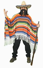 Forum Novelties Men's Adult Mexican Serape Costume