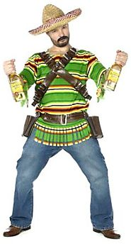 FunWorld Men's Tequila Pop N' Dude-Plus Costume