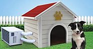 Buying a dog house AC unit helps dogs stay cool at summers