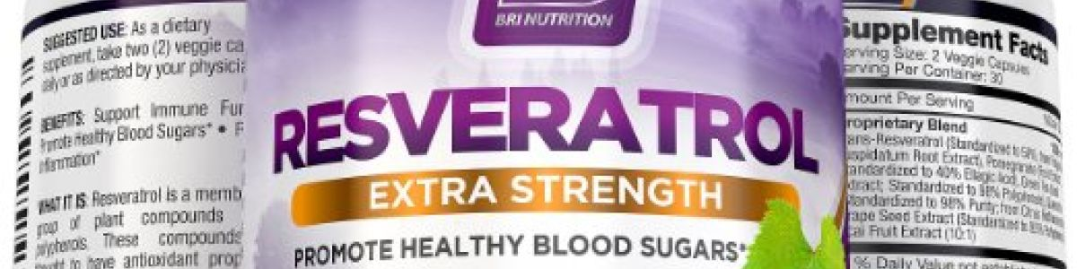 Image de couverture de Recommended Resveratrol for Managing Blood Sugar naturally - Reviews and Rating