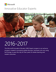 Microsoft Innovative Educator Experts 2016-2017