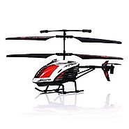 "GPTOYS G610 11"" Durant Built-in Gyro Infrared Remote Control Helicopter 3.5 Channels with Gyro and LED Light for Indo..."