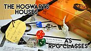 The Hogwarts Houses as RPG classes